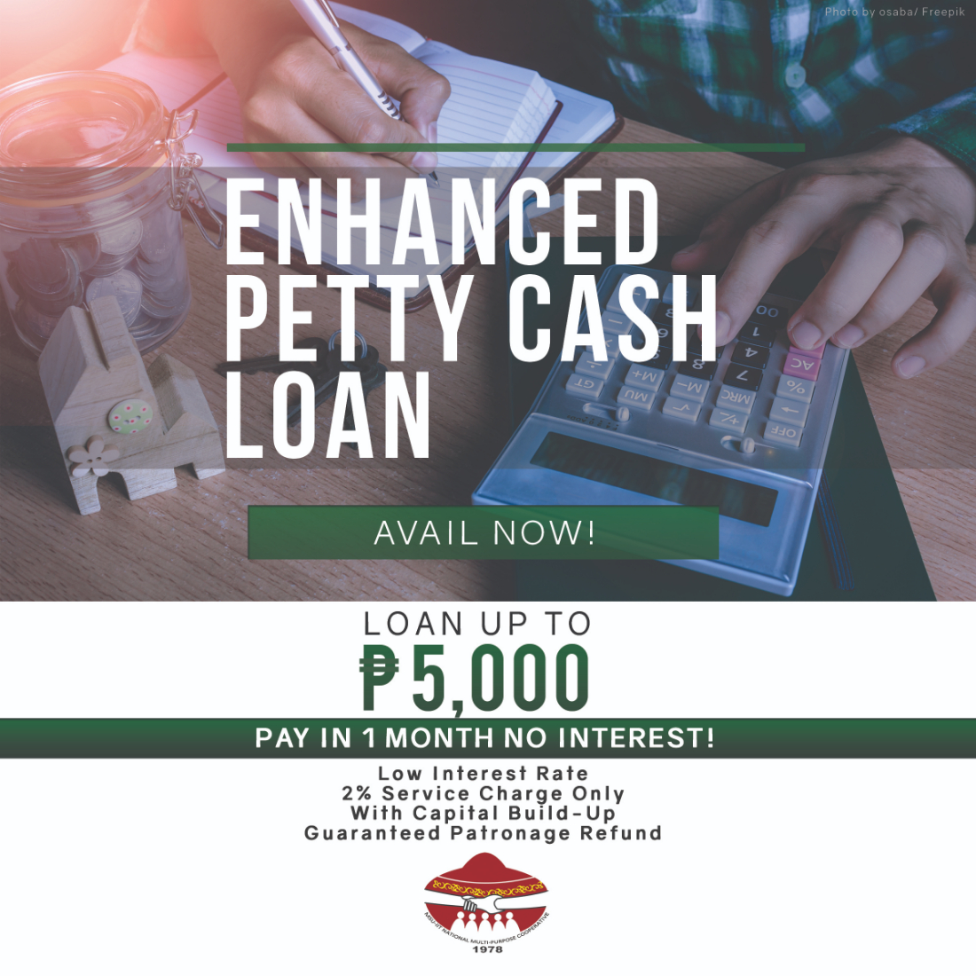 Enhanced Petty Cash Loan