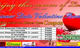 Love and be Loved this Season of Hearts with Our Valentine Promo Special!