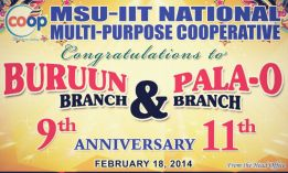 A Decade Strong: Pala-o Branch and Buruun Branch Celebrate Its Anniversaries