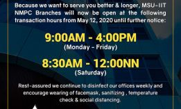 Announcement: Temporary transaction hours